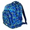 Dwukomorowy plecak szkolny St.Right 30 L, Kaleidoscope