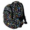 Dwukomorowy plecak szkolny St.Right 29 L, Splash