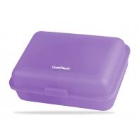 Śniadaniówka szkolna transparentna CoolPack Frozen fioletowa