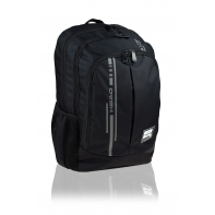 Dwukomorowy plecak szkolny młodzieżowy Astra Head, SMART BLACK