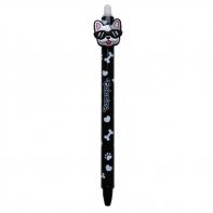 Długopis wymazywalny Colorino BULLDOGS PIESEK, czarny