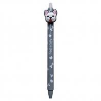 Długopis wymazywalny Colorino BULLDOGS PIESEK, szary