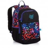 Dwukomorowy plecak młodzieżowy Topgal RUBI 20032 CĘTKI
