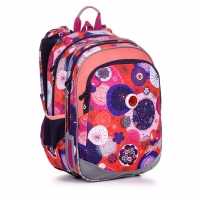 Plecak dwukomorowy dla dziewczynki Topgal ELLY 20005 + światełko