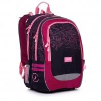 Plecak dwukomorowy dla dziewczynki Topgal CODA 20009