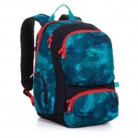 Dwukomorowy plecak młodzieżowy Topgal ROTH 20036