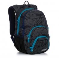 Dwukomorowy plecak młodzieżowy Topgal SIAN 20038