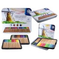 Astra Prestige Kredki Ołówkowe Drewno Cedrowe 48 kolorów, metalowe pudełko