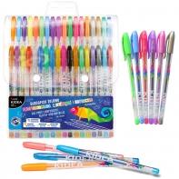 Derform długopisy żelowe KIDEA 36 kolorów