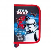 Piórnik dwuklapkowy bez wyposażenia St.Majewski Star Wars