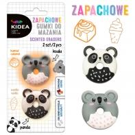 2 x gumka zapachowa do mazania Koala i Panda, Kidea