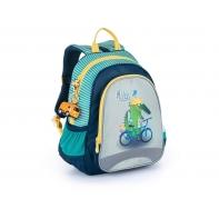 Plecak przedszkolny dla chłopca Topgal SISI 21026 B + przywieszka autobus