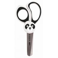 Nożyczki dla dzieci zaokrąglone końcówki biała panda