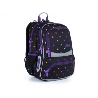 Dwukomorowy plecak szkolny Topgal NIKI 21011