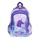 Dwukomorowy plecak szkolny St.Right 19L, SKY UNICORN / JEDNOROŻEC BP26