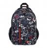 Czterokomorowy plecak szkolny ST.RIGHT , SLANG GRAFFITI BP68