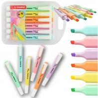 Zakreślacz Stabilo SwingCool zestaw 6 pastelowych kolorów