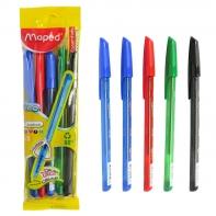 Maped długopis Ice Fun zestaw 5 kolorów
