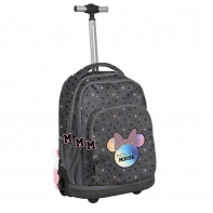 Plecak szkolny na kółkach Minnie DMNA-671, PASO