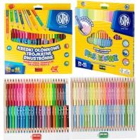 Zestaw kredki ołówkowe dwustronne Astra 96 kolorów