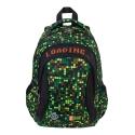 Dwukomorowy plecak szkolny St.Right 19L, GAMER - motyw gry BP26