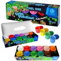 Farby plakatowe Pixel One Astra 12 kolorów