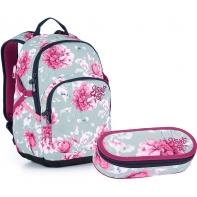 Zestaw szkolny Topgal plecak+piórnik, 21030