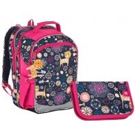 Zestaw szkolny Topgal plecak+piórnik z wyposażeniem, 876_909