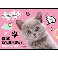 Blok rysunkowy 20 kartek A4 My Little Friend St.Majewski