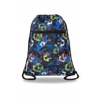 Worek szkolny na obuwie Coolpack Vert FOOTBALL BLUE