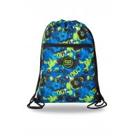 Worek szkolny na obuwie Coolpack Vert FOOTBALL GREEN