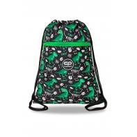 Worek szkolny na obuwie Coolpack Vert DINOZAURY
