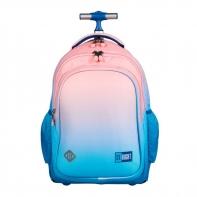 Plecak szkolny na kółkach St.Right LIGHT OMBRE TB1