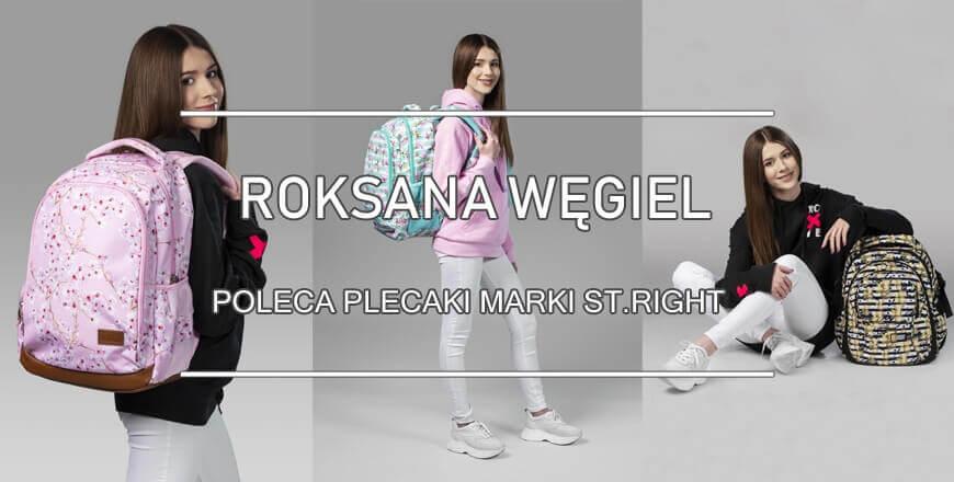Roksana Węgiel Roxy plecaki st.right